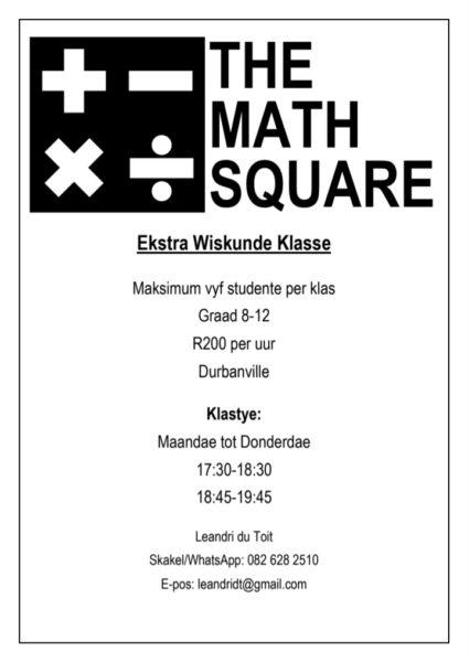 The Math Square